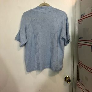 kenneth too! Sweaters - Kenneth Too! Textured V Neck S/S Sweater